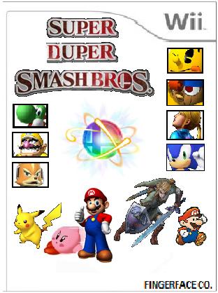 File:Super Duper Smash Bros Cover Art.png