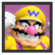 JSSB Character icon - Wario