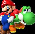 Mario & Yoshi SMN
