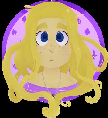 Rapunzel Portrait New