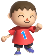 0.4.Red Villager doing the Shrunk Funk Shuffle