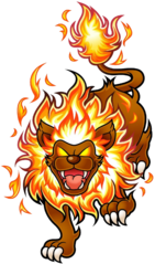 KSSU Fire Lion artwork