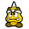 Golden Spiky Goomba