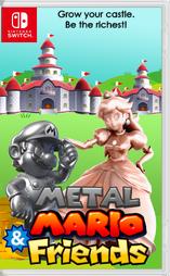 Metal mario friends box