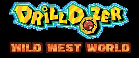 Drill Dozer Wild West World Logo