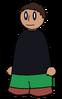 Pants Dark Green Generic