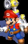 SMS-Mario FLUDD Pose