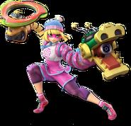 Smash Ultimate Min Min alt 6