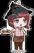 Sweets Paradise Danganronpa V3 Cafe Keychain (15)