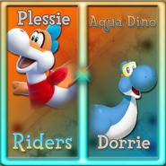 Aqua Dino Riders