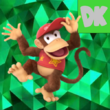 Diddy Kong Emerald