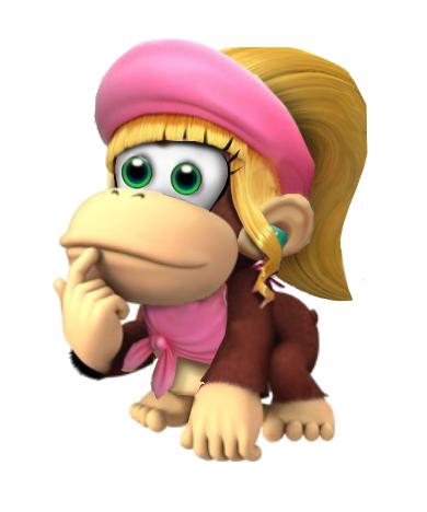 Image - Baby dixie kong.png | Fantendo - Nintendo Fanon ...