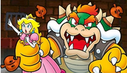 Bowser take Princess