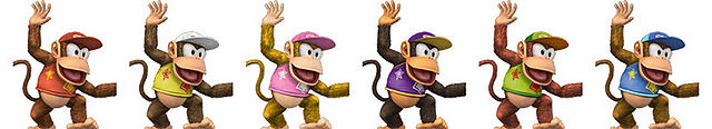 Diddy Kong Palette