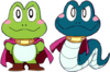 Frog & Snake