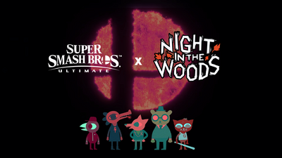 Super Smash Bros. Ultimate x Night in the Woods