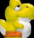 Yellow Baby Yoshi 3D