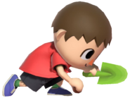 0.1.Red Villager planting a Seed