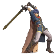 1.10.Path of Radiance Ike preparing to strike