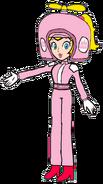 2D Propeller Peach