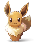 Eevee - Pokemon Let's Go