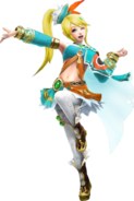 HWL Lana Master Wind Waker Standard Outfit Costume Artwork