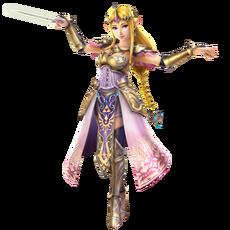 Hyrule Warriors - Zelda Tact Artwork