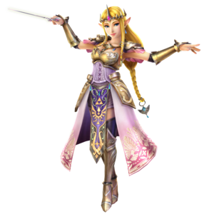 Hyrule Warriors - Zelda Tact Artwork