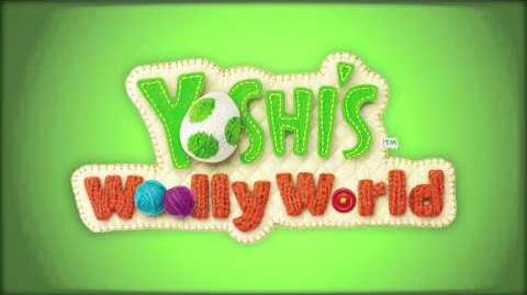 Yoshi and Cookies (Yoshi's Woolly World)