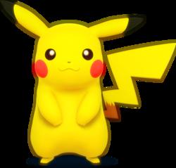 502px-Pikachu - Super Smash Bros.