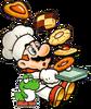 Chef Mario & Baby Yoshi