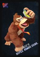 Donkey Kong - JSSB amiibo card