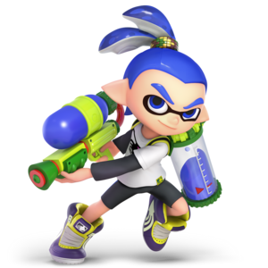Inkling SSBUltimate (Male)