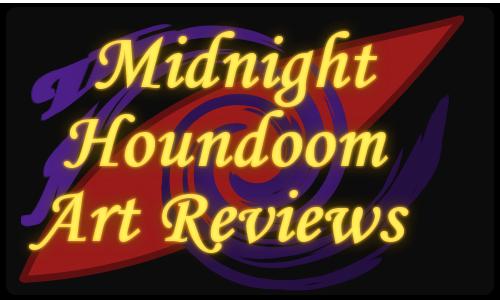 Midnight Houndoom Art Reviews Logo
