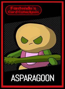 FCC Asparagoon Card