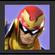 JSSB Character icon - Captain Falcon