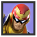 JSSB Character icon - Captain Falcon
