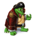 Kaptain k rool transparent by pavlovs walrus-d9bmj5x