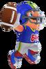 2.Football Mario 3