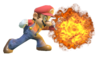 9.Mario's side smash