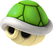 Green Shell Artwork - Mario Kart 7