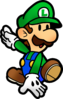 Mario and luigi paper jam paper luigi by fawfulthegreat64-d94c00j
