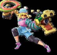 Smash Ultimate Min Min alt 1