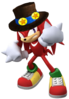 2.Knuckles with Hat 1