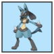 JSSB character preview icon - Lucario