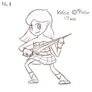 Kelsie O'Fallon pas