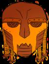 Mask orange
