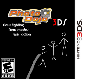 Photo Dojo 3DS Box Art 2nd version