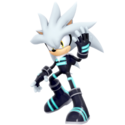 Silver the hedgehog racesuit outfit render by nibroc rock-db6rok6