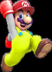 Super Saying Mario